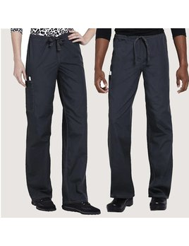 Cherokee Authentic Workwear 4100 Unisex Drawstring Cargo Pant