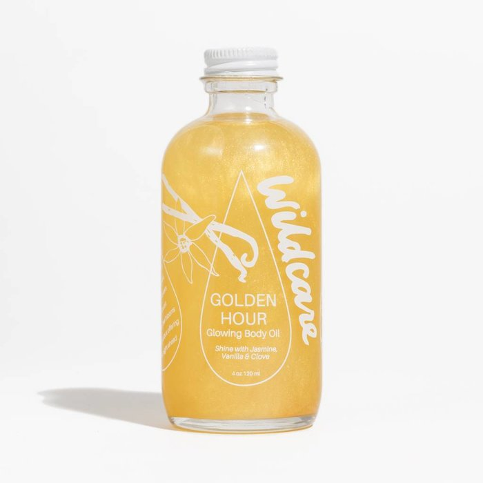 Wildcare Golden Hour Glowing Body Oil