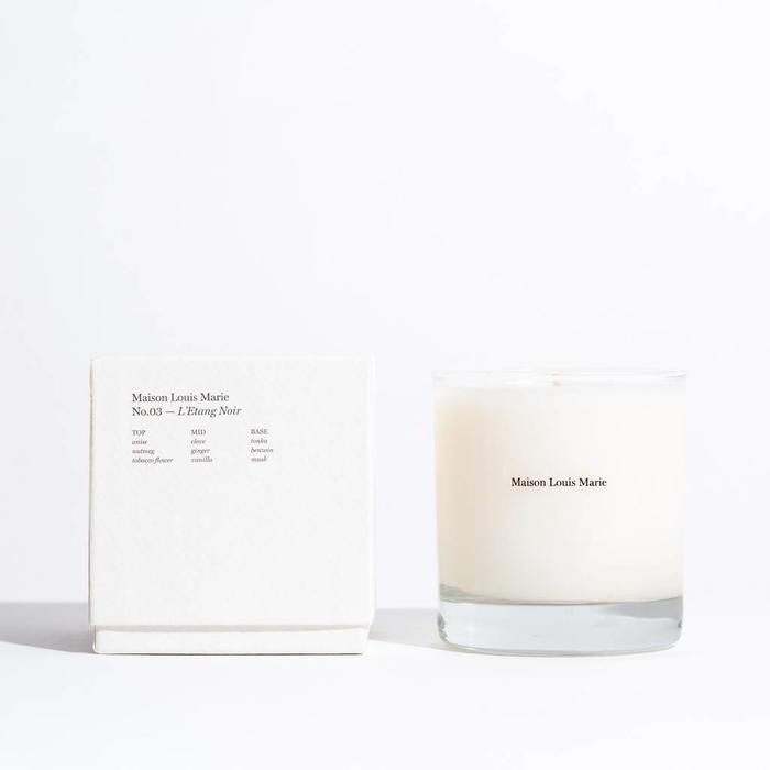 Maison Louis Marie Candles-  No. 03 L'Etang Noir