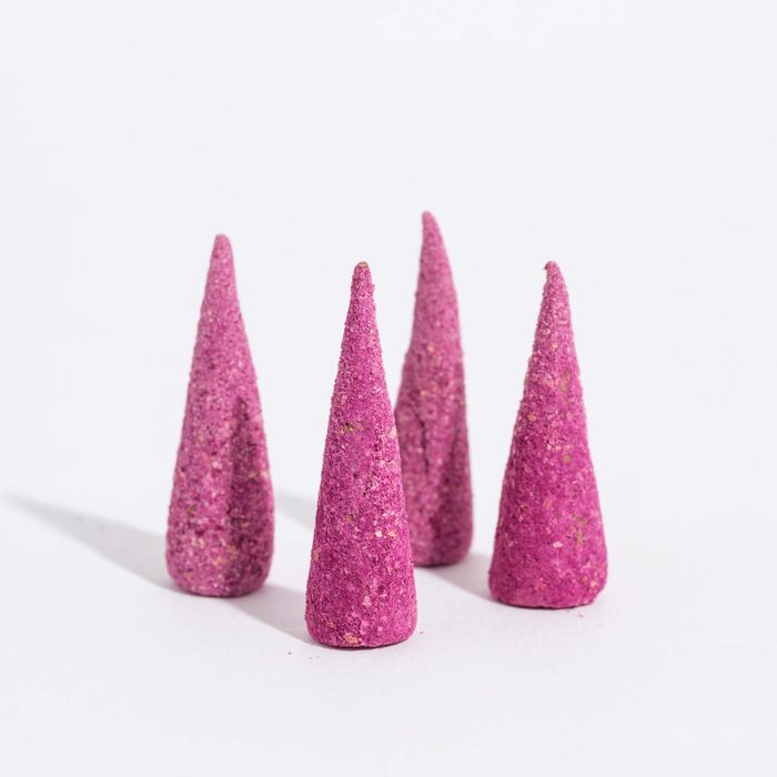 Good4You Incense Cones -  wild rose