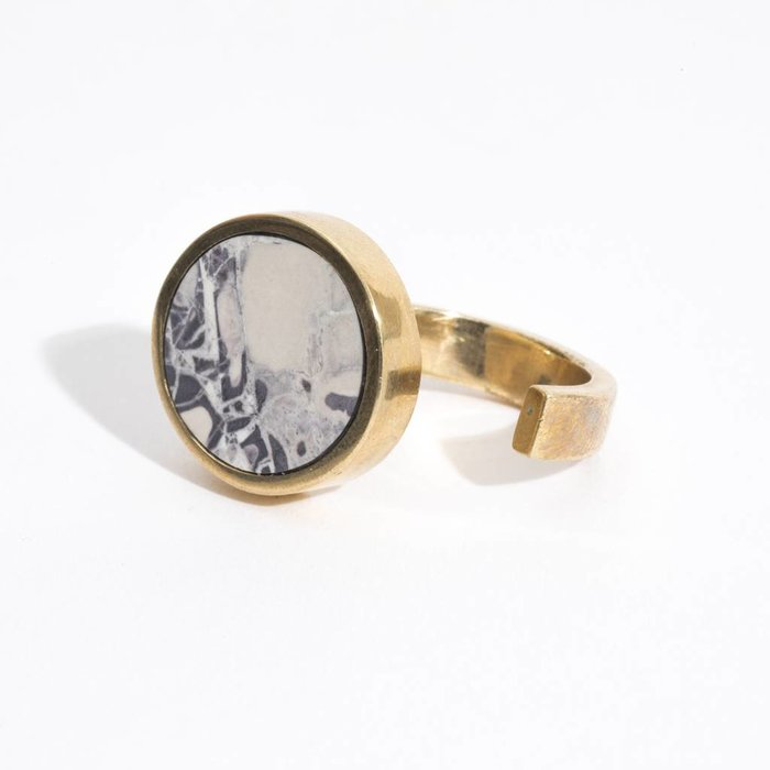 Quarry Jaspe Single Ring