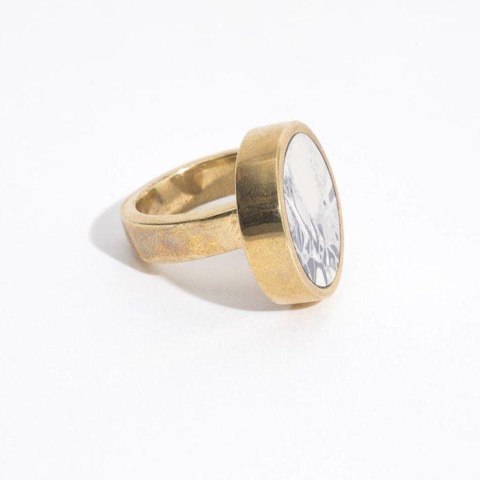 Quarry Jaspe Single Ring