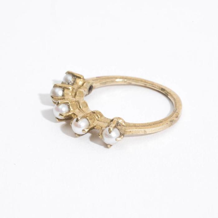 Aesa Radiant Aperture Ring - Pearls