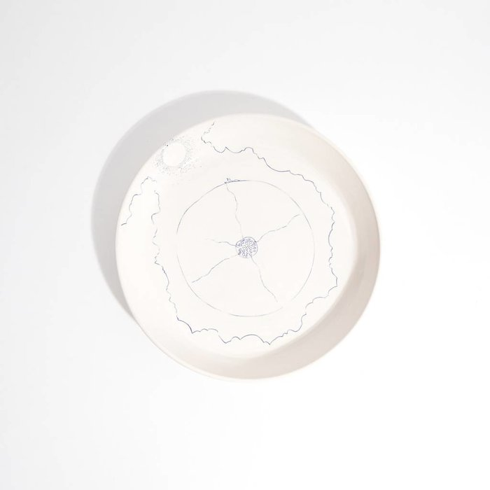 Miki Glasser Sun and Earth Dinner Plate