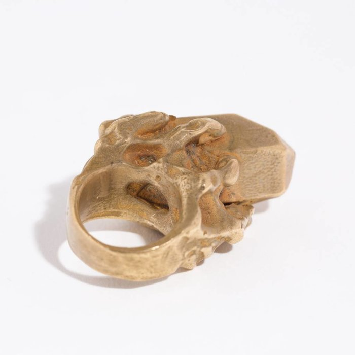 Cave Collective Metal Crystal Rings