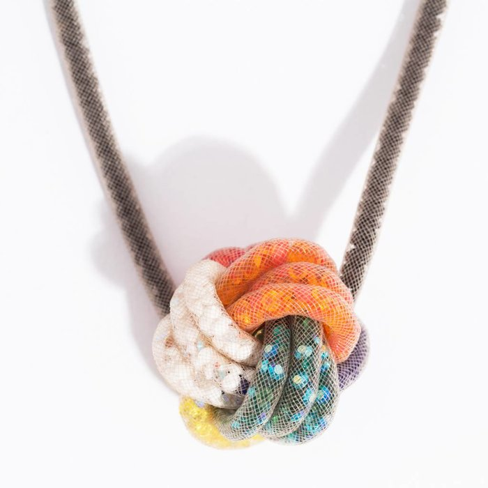 Peppercotton Rubicks Cube Necklace