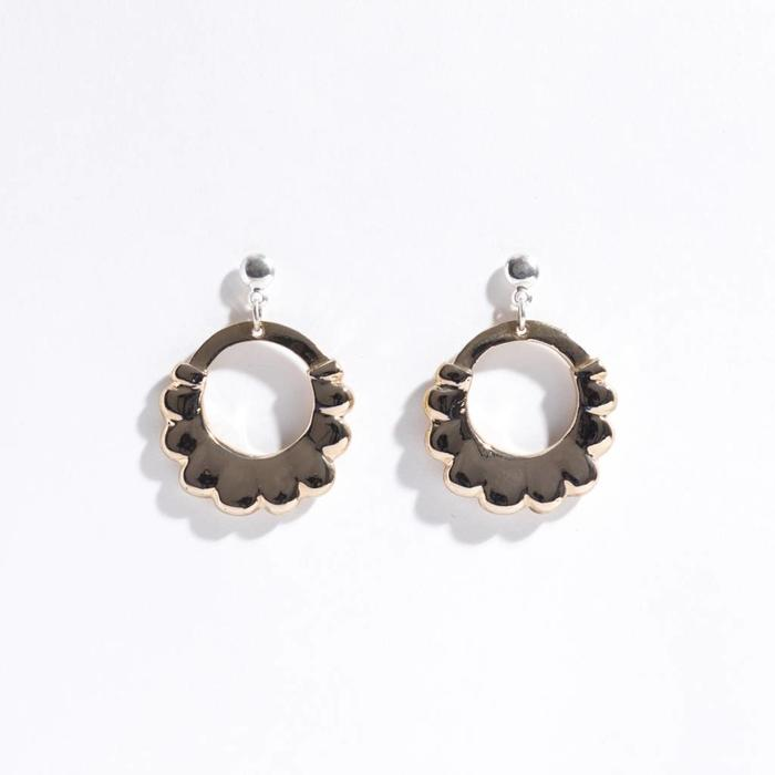 Open House Scallop Earrings