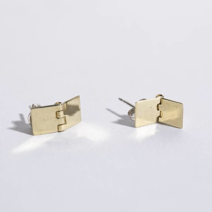 Open House Hinge Earrings