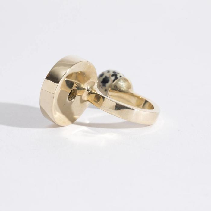 Quarry Jaspe Double Ring
