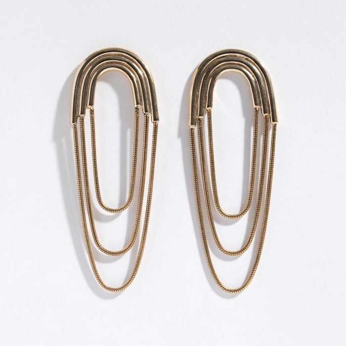 Pamela Love Iris Earrings - Large