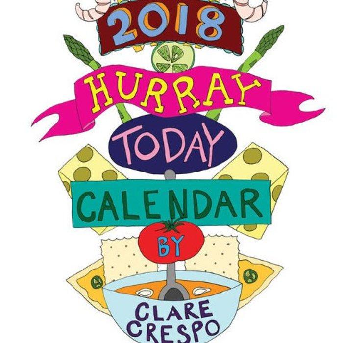 Clare Crespo 2018 Calendars