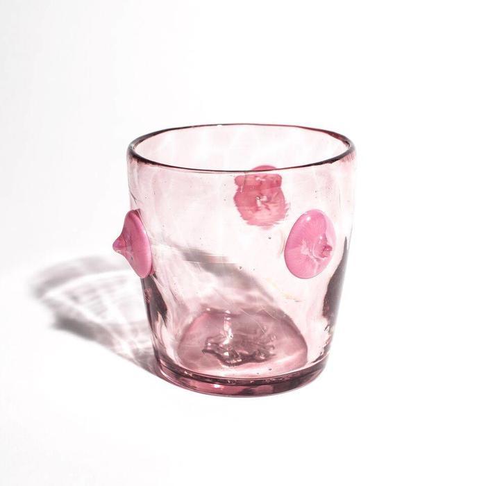 Asp & Hand Pale Mauve Veritas Glass