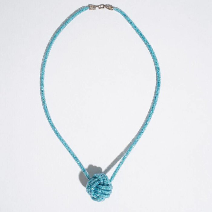 Peppercotton Necklace - Turquoise Knot