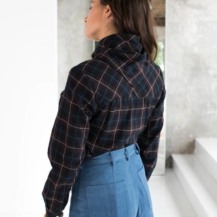 Carleen Bandana Neck Shirt