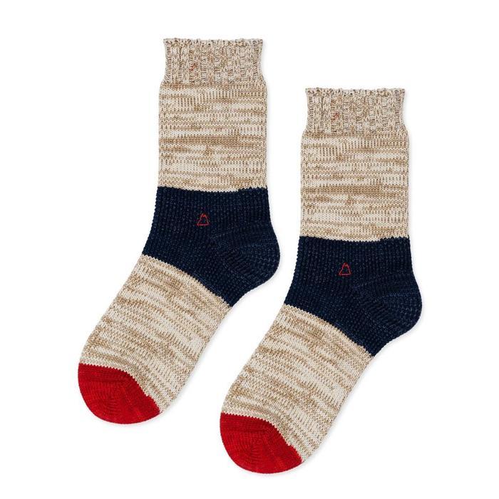 Hansel From Basel Dapple Crew Sock -