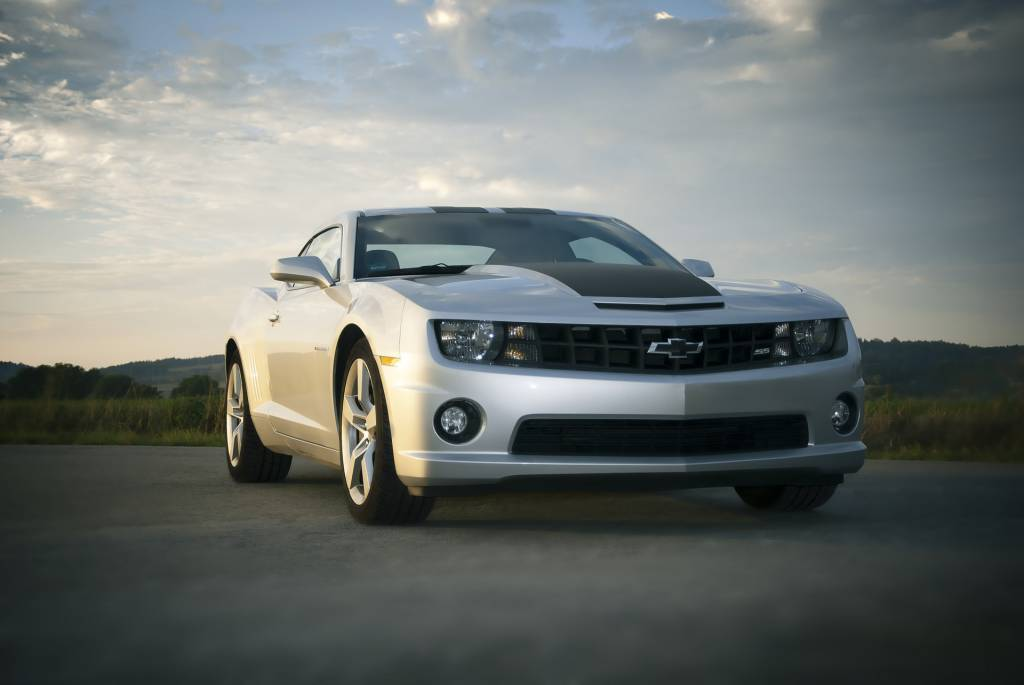 Chevrolet Camaro Silver