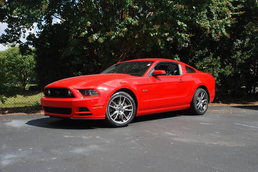 Mustang 2008 Red