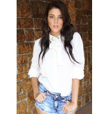Nike Chica camisa blanca