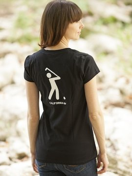 Women's T-Shirts Women's V-Neck Golf Tee