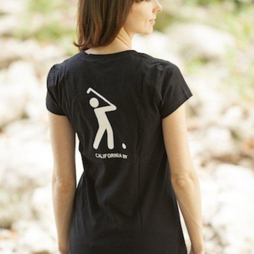 Women's T-Shirts Women's V-Neck Golf Tee