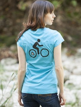 Women's T-Shirts Women's Bicycle Short Sleeve Tee