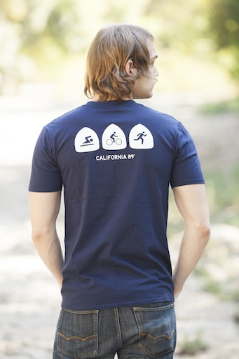 Men's Tshirt Triathlon Men's Tee