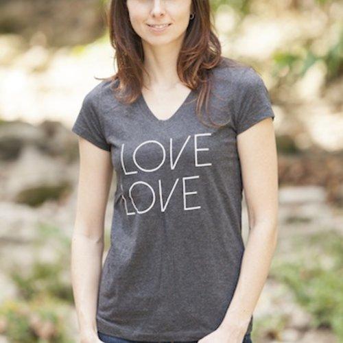 Women's T-Shirts Women's Love Tennis Tee