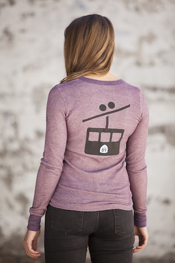 Women's Thermal Gondola Graphic Women's Long Sleeve Thermal