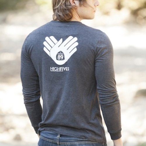 Men's Tshirt High Five Foundation Men's Long Sleeve Tee
