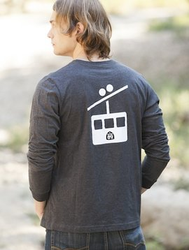 Men's Long Sleeve Tee Gondola Men's Long Sleeve Tee