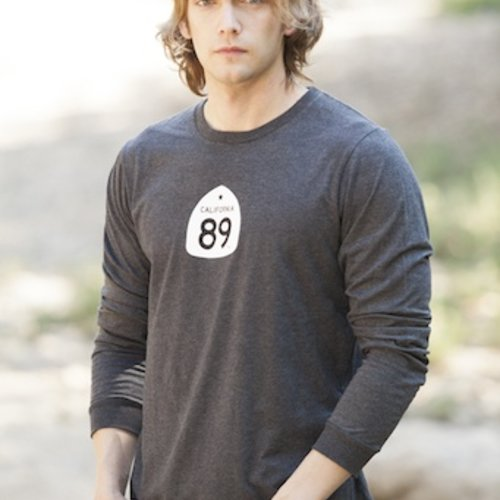 Men's Long Sleeve Tee Bicycle Men's Long Sleeve Tee