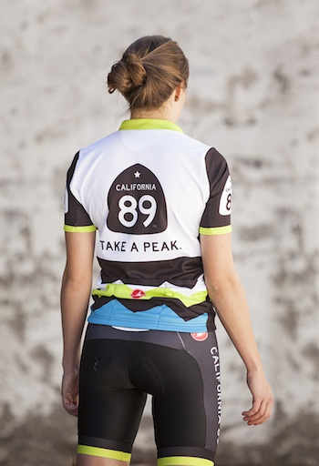 Bike Jersey Mountain Design Women's Castelli Bike Jersey