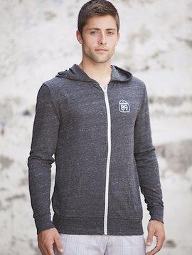 Unisex Sweatshirts Unisex Lightweight Hooded Zip