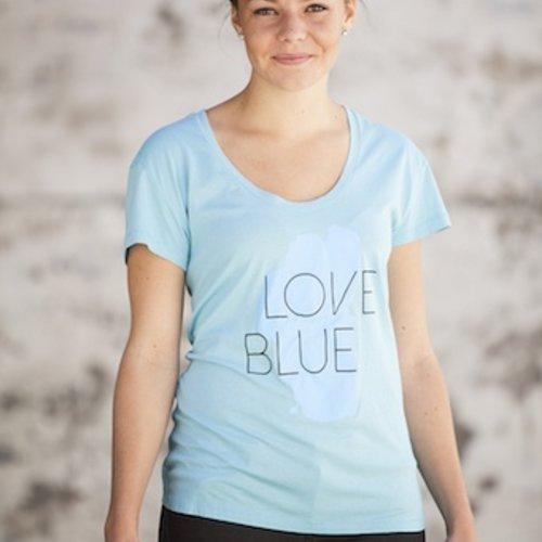 Women's T-Shirts Women's Love Blue Roadtrip Tee