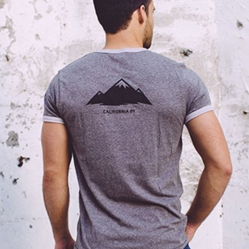 Men's Tshirt Mountain Men's Ringer Tee