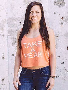 Women's Tank Women's Boxy Take a Peak Tank