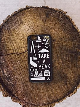 Phones Graphic iPhone Case