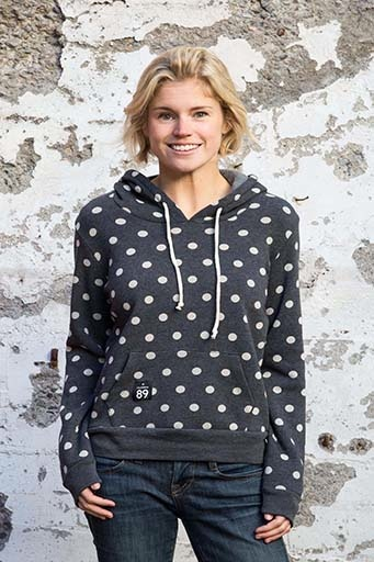 Women's sweatshirts Women's Polka Dot Hoodie