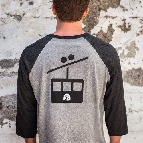 Unisex T-shirt Gondola Unisex Baseball Tee