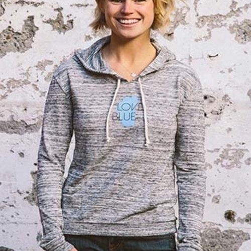 Women's Pullover Love Blue Lightweight Women's Pullover