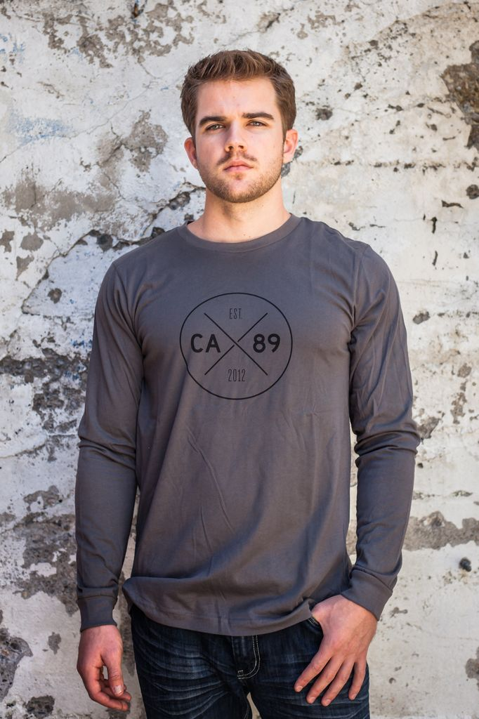 Men's Long Sleeve Tee Men's Long Sleeve CA89 Dial w/ Mountain Tee
