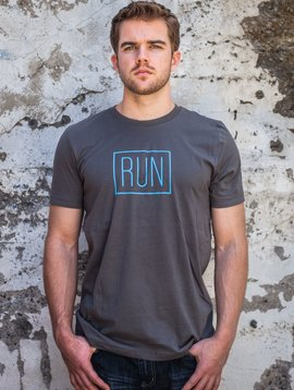 Men's Tshirt Men's Short Sleeve Run Tee