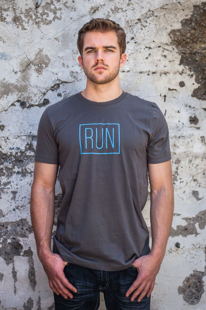 Men's Tshirt Men's Short Sleeve Run Tee