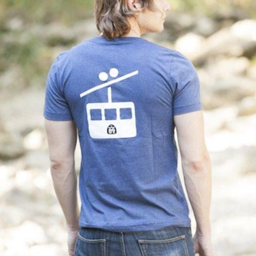 Men's Tshirt Gondola Men's V-Neck Tee