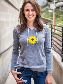 Women's Pullover Sunflower Paddleboard Women's Pullover