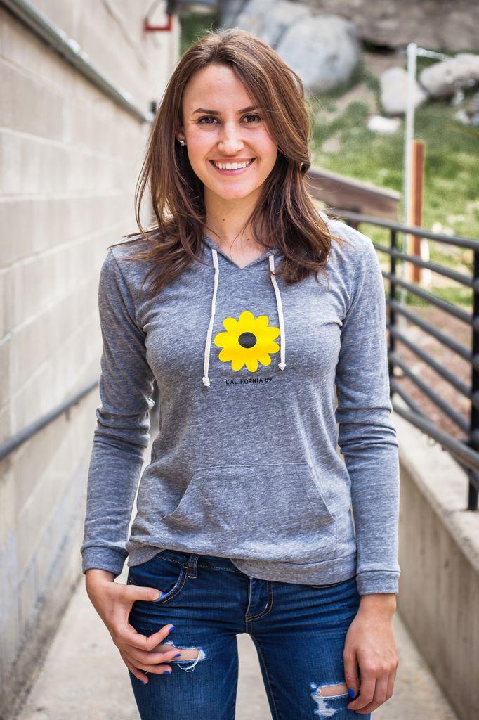 Women's Pullover Women's Sunflower Paddleboard Pullover