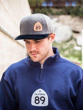 Hats Capteur Hat Wool Flatbill Grey, CA89<br /> Capteur Hat Wool Flatbill Grey, CA89<br /> Capteur Hat Wool Flatbill Grey, CA89