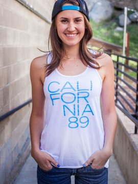 Women's Tank California 89 Women's Tank