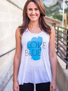 Women's Tank Women's Love Blue Tank