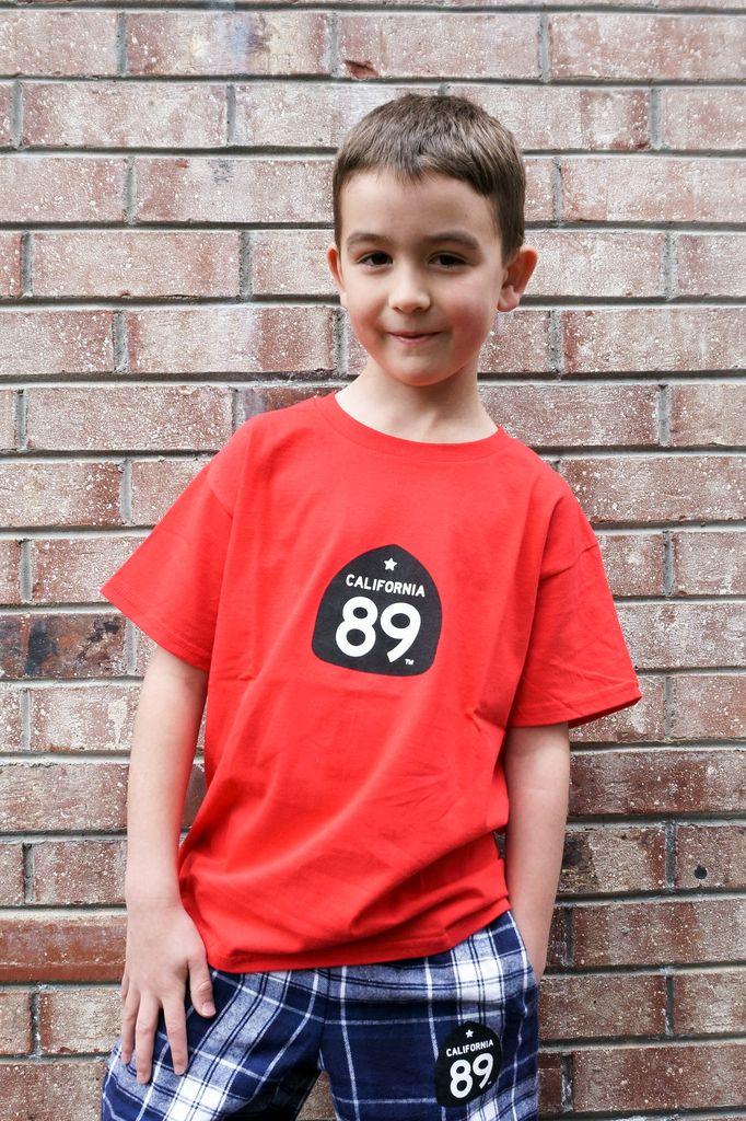 Kid's T-Shirts Kids CA89 T-Shirt with Gondola on Back